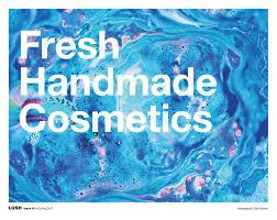 fresh handmade cosmetics issue 01 spring 2017 canada by lush