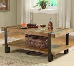 unique end table ideas furniture catching unusual wooden coffee tables with iron legs