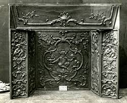 hearth in cast iron