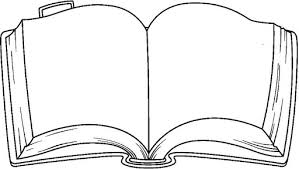 Open Book Colouring Pages Free Download Clip Art Free Clip Art Books Coloring Page