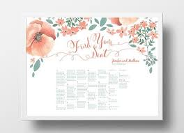 Wedding Poster Template 12 Best Diy Wedding Seating Chart Poster Templates Images On