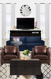 Best Living Room Mood Boards Images On Pinterest Living Room - Leather chairs living room