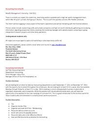 Accounting Sample Resume by Sample Resume Accounting No Work Experience Resume Cover Letter