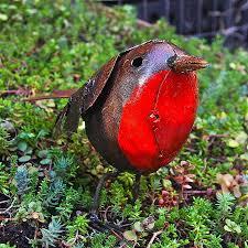 robin garden ornament garden ftempo