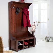 furniture adorable function of entry bench with coat rack for
