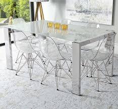 Replica Vitra Chairs Replica Vitra Ghost Clear Eames Dsr Chair Acrozz Com