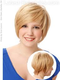 short hairstyles for round faces plus size hairstyles for round faces plus size 42 best plus size short