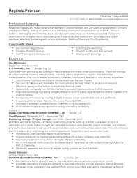 summary and qualifications resume professional chief estimator templates to showcase your talent resume templates chief estimator