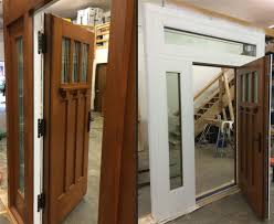 House Doors Craftsman Style Passive House Doors Custom Made By H U0026h Hammer U0026 Hand