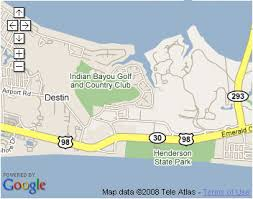 destin map local attractions and entertainment while in destin florida
