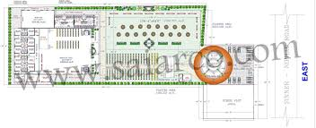 marriage hall floor plan photo video gallery sai arco one stop solution for building