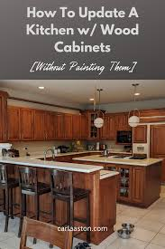 kitchen cabinet color honey how to update a kitchen with wood cabinets without painting