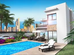 Modern Villas by New Build Modern Villas For Sale In Finestrat