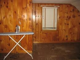 Covering Wood Paneling by Paneling Modern Wood Paneling