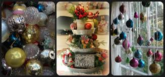 10 vintage finds re purposed into christmas decorations