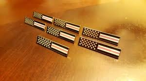 Breast Cancer Flags American Flag Breast Cancer Thin Pink Line Bar