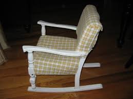 Vintage Childrens Rocking Chairs Vintage Childs Rocking Chair With Music Box Home Chair Decoration