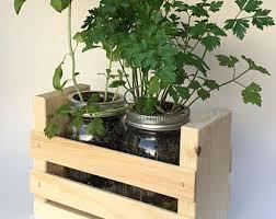 Indoor Herb Garden Kit Herb Garden Kit Etsy