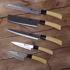 cuisine kitchen 5 knife couteaux de cuisine sashimi sushi kitchen set cutley chef