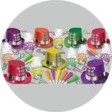 new years party kits the fluorescent assortment for 50 new years party kit