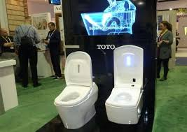 22 best bathroom technology images self cleaning toilet makes splash in las vegas