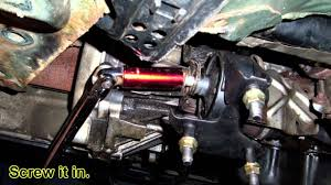 replacing the rear motor mount for chevy prizm geo corolla by
