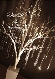 decorate my wedding teardrop wedding trees 48 white