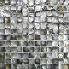 Black Lip Shell Tile Backsplash Cheap Deepwater Seashell Mosaic - Seashell backsplash