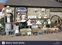 garden statues ornaments and troughs for sale in an antique