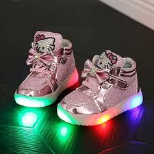 size 5 light up shoes girls kids hello kitty baby led light end 6 2 2018 5 15 pm