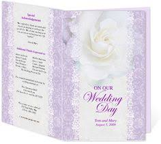 wedding program design template letter single fold wedding program templates edits