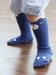 cute stockings cute blue bear stockings for baby boy girl 27675 0 jpg