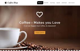 free bootstrap templates for government coffee shop website free download webthemez