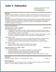 Open Office Resume Templates Free Resume Openoffice Template Resume Templates For Openoffice