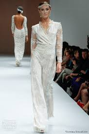 wedding dress jumpsuit the wedding trend for 2014 the jumpsuit vponsale
