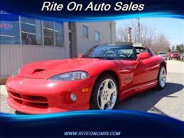 dodge viper rt 10 2000 dodge viper rt 10 for sale in ecorse mi stock d511salv