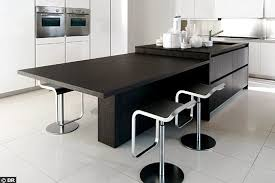 ilot central table cuisine une cuisine avec îlot central kitchens living rooms and kitchen