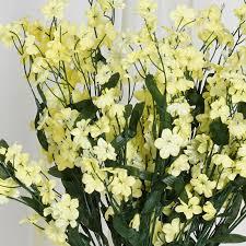 Baby Breath Flowers Balsacircle 12 Bushes Baby Breath Silk Filler Flowers For Wedding