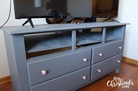 diy dresser turned tv stand heychrishinda com