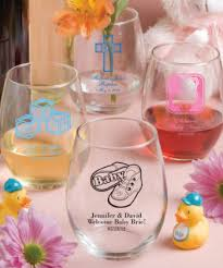 wine glass gift 15 ounce stemless wine glasses gift boxes available baby shower