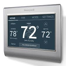 shop smart thermostats at lowes com