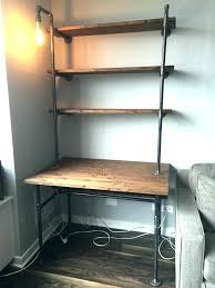 Desk Shelving Ideas Desk Shelving Desk With Storage Above Desk Computer Desk