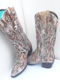 s boots with bling custom painted camouflage bling wedding bridal boots