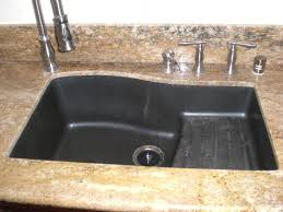 granite composite sink vs stainless steel kitchen pool handsome kitchen decoration with black granite