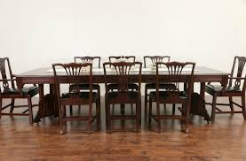 sold victorian eastlake 1885 walnut dining table 6 leaves
