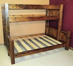 Barnwood Bunk Beds Barn Wood Bunk Bed Barn Wood Furniture Rustic Barnwood And Log