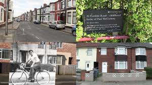paul mccartney houses in liverpool beatles sites youtube
