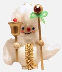 steinbach spirit of present dickens german wood ornament