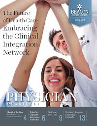 beacon health system physician quarterly by beacon health system