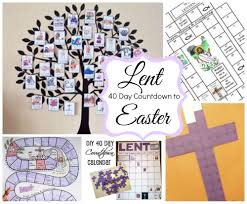 40 day countdown to easter ideas celebrating holidays